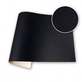 Fredrix 550 Black Primed Cotton Sample