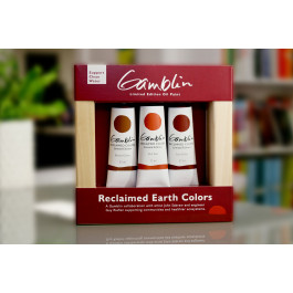 Gamblin Reclaimed Earth Oil Tube Set Limited Edition
