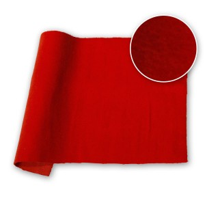 Cotton Velvet Velour NDFR Flame 48 in / 122 cm