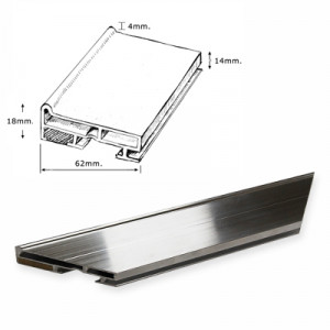 Aluminium 18mm Conservation Bars