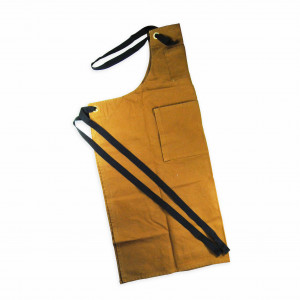 Labour & Wait Khaki Dyed Cotton Apron