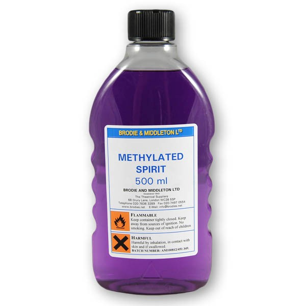 Brodie & Middleton Methylated Spirit - Solvents, Adhesives