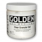 Golden Clear Granular Gel