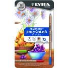 Lyra Rembrandt Polycolor Metal Box 12
