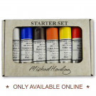 Michael Harding artists' Oil Colour Set of 6 Colours