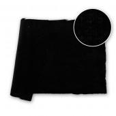 Cotton Velvet Velour NDFR Black 48 in / 122 cm