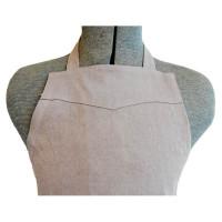 Apron Grey Linen