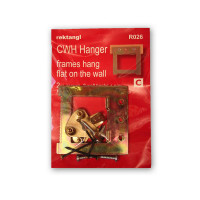 Hanging Accessories - Recktangle Canvas Wrap Hanger, Hanging Pack of 2