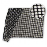 Square Woven Sprinkler Gauze 90gsm NDFR Black 204 in / 520 cm