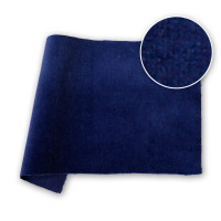 Cotton Velvet Velour NDFR Dark Blue 48 in / 122 cm