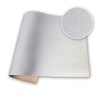 Sample Russell and Chapple 12oz Acrylic Primed Cotton Duck