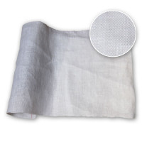 Optical White Garment Linen 54in / 137 cm 200 gsm 100% Linen