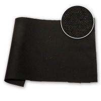 Dyed Cotton Duck Showerproof Finish 12oz 36 in / 91 cm Black (Reactive Dye)