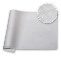 White 4 oz PU Coated Nylon 59 in / 150 cm