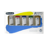 Schmincke Akademie Acrylic Set 5 x 60ml Tubes 76723