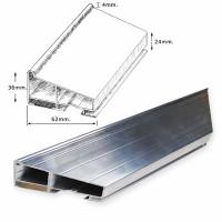 Aluminium 36 mm Conservation Bars