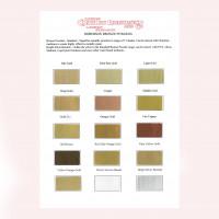 Roberson Original Colour Chart Bronze Powders