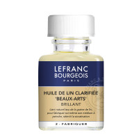 Lefranc Clarified Linseed Oil