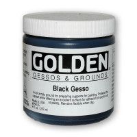 Golden Black Gesso
