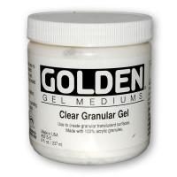 Golden Clear Granular Gel