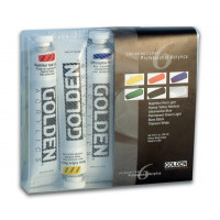 Golden Introductory Acrylic Set of 6 x 22ml Tubes