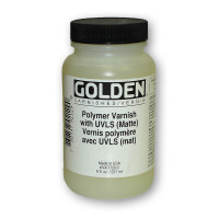 Golden Polymer Varnish Satin