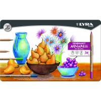 Lyra Rembrandt Aquarell Metal Box 36