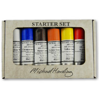 Michael Harding artists' Oil Colour Set of 6 Colours