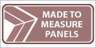 Made to measure panels